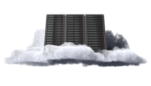 Image of cloud computer server
